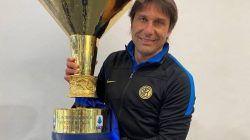 Antonio Conte saat meraih Scudetto bersama Inter Milan musim lalu. (Foto: IG @antonioconte/Tugu Jatim)