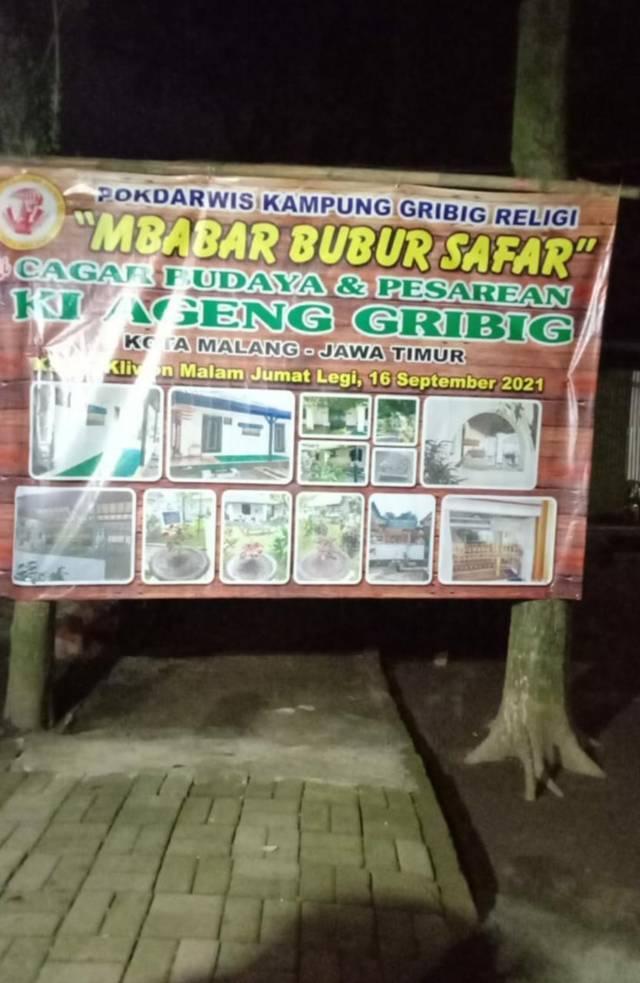 Event terbatas yang digelar Pokdarwis Kampung Gribig Religi Kota Malang pada Kamis (16/09/2021). (Foto: Dokumen/Tugu Jatim)