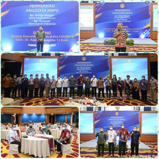 Kemeriahan sharing komunikasi dan motivasi dalam acara yang diselenggarakan BMPD di Padang, Sumbar, Selasa sore (07/09/2021).(Foto: Dokumen/Tugu Jatim)