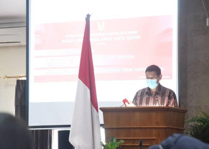 Wali Kota Kediri Abdullah Abu Bakar. (Foto: Dokumen/Tugu Jatim)