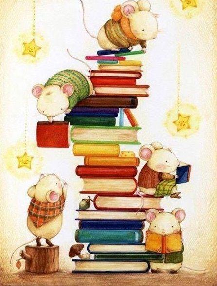 Ilustrasi para pecinta buku yang ternyata memiliki beberapa jenis berbeda/tugu jatim