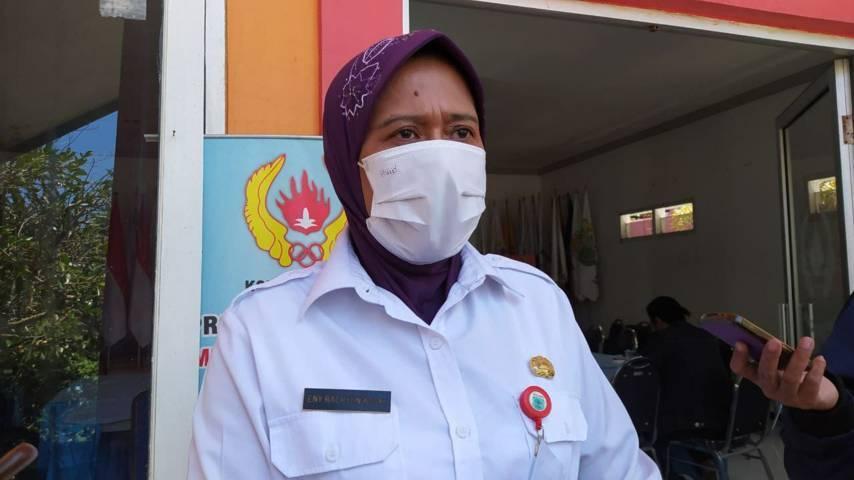 Kepala Dinas Pendidikan Kota Batu Eny Rachyuningsih. (Foto: M Ululn Azmy/Tugu Malang/Tugu Jatim) sekolah tatap muka beasiswa