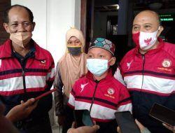 Bocah Jawara Karate yang Kayuh Sepeda 30 Km Bersama Ibu Bercita-cita Jadi Polisi