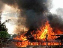 2 Rumah dan 1 Kandang di Tuban Ludes Dilahap Api, Kerugian Capai Rp 250 Juta