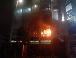 Gedung FT UB Terbakar, Diduga Akibat Korsleting Listrik