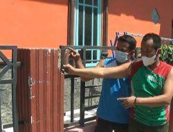 Truk Kontainer Paksa Lintasi Gang Sempit di Tuban, Sejumlah Rumah Warga Rusak