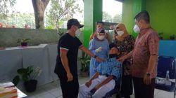 Swab acak yang dilakukan kepada pelajar di Kota Malang. (Foto: M Sholeh/Tugu Malang/Tugu Jatim) swab test pelajar di surabaya