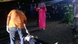 Kondisi TKP remaja berusia 14 tahun yang dalam kondisi hamil tewas diracun oleh pacar di sebuah lapangan voli di Kabupaten Kediri, Jumat (24/9/2021) lalu. (Foto: Dokumen) tugu jatim