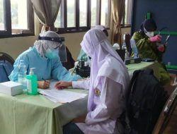 600 Pelajar MAN Kota Batu Jalani Vaksinasi