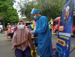 Tunawisma Jadi Sasaran Vaksinasi Covid-19 di Tuban, Pulang Dapat Bonus Sembako