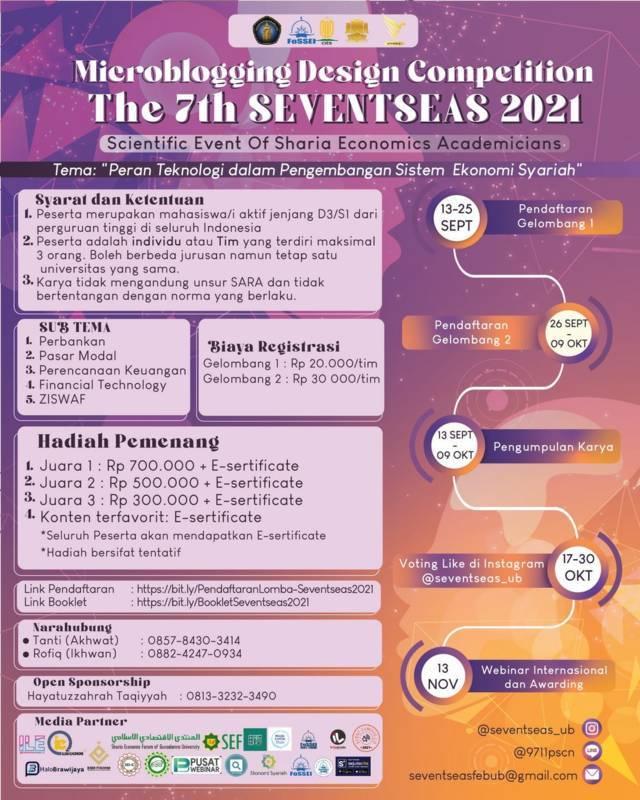 Acara SEVENTSEAS 7th yang digagas Centre for Islamic Economics Studies (CIES) Fakultas Ekonomi dan Bisnis Universitas Brawijaya (FEB UB). (Foto: Dokumen) tugu jatim