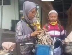 Ibu dan Anak di Malang Viral, Kayuh Sepeda 30 Km Demi Ikut Lomba Karate