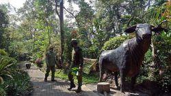 Tempat wisata di Kota Kediri, Sumber Banteng yang sudah mulai dibuka kembali untuk wisatawan. (Foto: Pemkot Kediri) tugu jatim