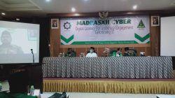 Para pembicara dalam acara Madrasah Cyber II yang digelar di Mojokerto, Jumat (22/10/22)/tugu jatim