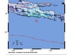 Gempa 5,1 M Berpusat di Malang Selatan Tak Berpotensi Tsunami