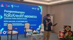 Menparekraf RI Sandiaga Uno dalam workshop Pengembangan KaTa Kreatif di Latar Ijen Coffee & Resto Kota Malang, Sabtu (16/10/2021).(Foto: M. Sholeh/Tugu Malang/Tugu Jatim)