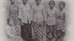 Ilustrasi perempuan remaja zaman penjajahan Jepang/tugu jatim