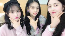 Eunha, Umji, dan SinB Ex-GFRIEND/tugu jatim