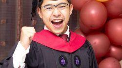 Muhammad Rifky Wicaksono saat wisuda di Harvard Law School/tugu jatim