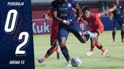 Carlos Fortes berhasil membawa Arema FC unggul 2-0 atas Persiraja. (Foto: Arema FC/Tugu Jatim)