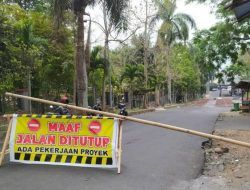 Relokasi Pedagang, Akses Jalan ke Stadion Brantas Kota Batu Ditutup 1,5 Tahun