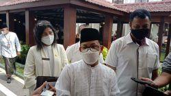 Wali Kota Malang Sutiaji menanggapi instruksi penurunan tarif PCR.(Foto: M. Sholeh/Tugu Malang/Tugu Jatim)
