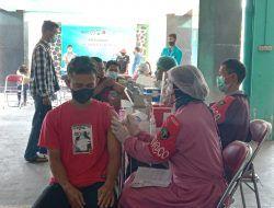 Gelar Vaksinasi Massal, Polresta Malang Kota Sinergi dengan PWI dan Kampus IBU