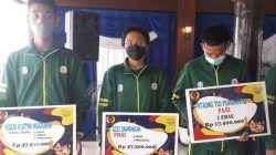 Para atlet Kota Malang yang berprestasi di PON XX Papua 2021. (Foto: M. Sholeh/Tugu Malang/Tugu Jatim)