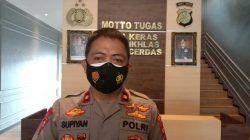 Kabagops Polresta Malang Kota Kompol Supiyan menjelaskan terkait pemanggilan panitia Malang Fashion Week 2021 pada Sabtu (23/10/2021). (Foto: M. Sholeh/Tugu Malang/Tugu Jatim)