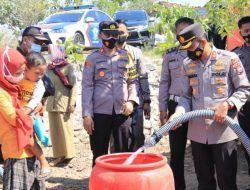 Kekeringan di Tuban, Polres Tuban Distribusikan 40 Ribu Liter Air Bersih