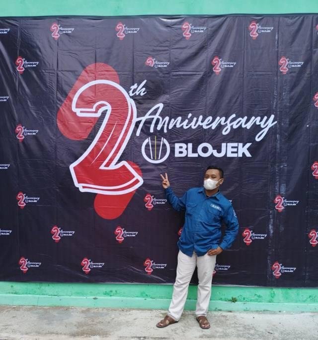 Direktur Blojek, Ryan Rizky Ardian Novika Putra. (Foto: Dokumen) tugu jatim