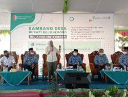Bupati Bojonegoro Anggarkan Rp 2 Miliar untuk Bangun Jalan Desa Guyangan