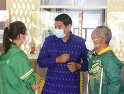 Sebelum Berlaga di Peparnas XVI Papua 2021, Wali Kota Kediri Beri Pesan Ini pada Atlet NPC
