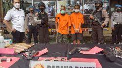 Todongkan Airsoft Gun ke Polisi, 2 Maling Motor di Malang Didor