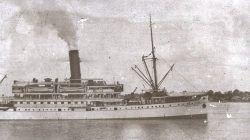 Kapal Van Der Wicjk yang tenggelam pada tahun 1936 silam di Perairan Brondong, Lamongan.