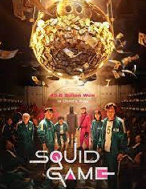 Poster film Squid Game.