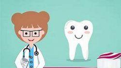 Ilustrasi tips mencegah gigi berlubang pada anak.