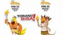 Maskot PON XX Papua. /tugu jatim