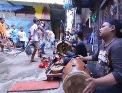 Serunya Festival Gugur Gunung di Kampung Tridi Kota Malang