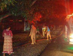 Kebakaran Toko di Margomulyo Bojonegoro, Kerugian Capai Rp 80 Juta