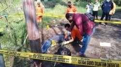 Mayat Pria Ditemukan di Bawah Jembatan Kali Lanang Kota Batu, Wajah Penuh Luka