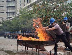 66 Satpam SIG Tuban Dilatih untuk Tanggap Bencana Kebakaran