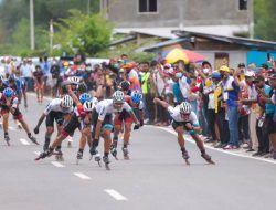Atlet Sepatu Roda Kota Malang Borong 4 Medali di PON XX Papua