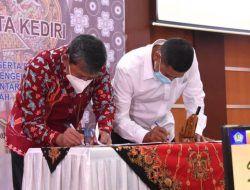 Wali Kota Kediri Tanda Tangani Nota Kesepakatan dengan Dirjen Perbendaharaan